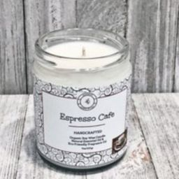 Espresso Cafe Organic Soy Candle - Vegan Gifts- Coffee House Scents- Housewarming Birthday Gifts Whi | Etsy (US)