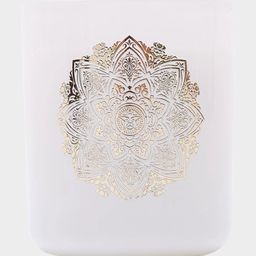 OBEY Mandala White Candle | Tillys