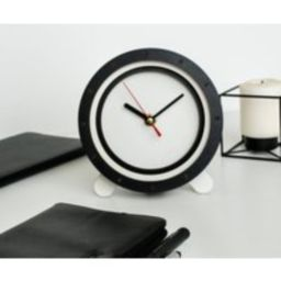 Home Decor Black White Clocks Wood Hdf Birthday Decoration Handmade Unique Gifts For Men Gift Mom He | Etsy (US)