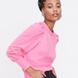 Puff Sleeve Sweatshirt | LOFT
