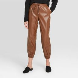 Women's High-Rise Ankle Length Jogger Pull-On Pants - A New Day™ | Target
