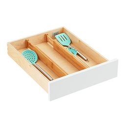 Bamboo Drawer Organizers Pkg/2 | The Container Store