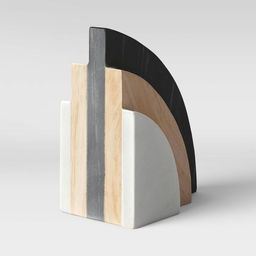 """5"""" Marble and Wood Bookend - Project 62™   Target"""