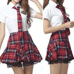 Uniform Lingerie Costume Set | YesStyle Global