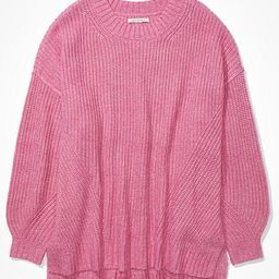 AE Oversized Dreamspun Crew Neck Sweater   American Eagle Outfitters (US & CA)