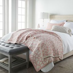 """Crafted by Catherine 60"""" x 70"""" Cozy Knit Throw (Assorted Colors) 