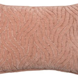 """Mainstays Textured Chenille Oblong Decorative Pillow, 14"""" x 20"""", Coral   Walmart (US)"""