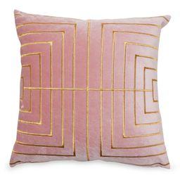 "MoDRN Glam Metallic Stitched Decorative Throw Pillow, 20"" x 20""   Walmart (US)"