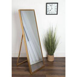 Kate and Laurel Evans Wood Framed Free Standing Floor Mirror - 8W x 58H in.   Walmart (US)