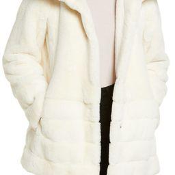 Hooded Faux Fur Coat | Nordstrom