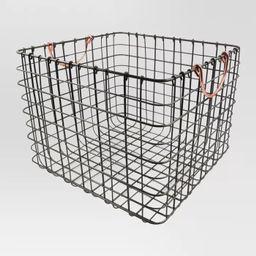 Target/Home/Storage & Organization/Cubbies & Storage CubesLarge Wire Milk Crate with Handles C... | Target