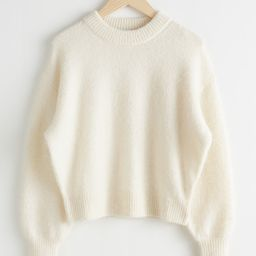 Fuzzy Wool Blend Sweater   & Other Stories