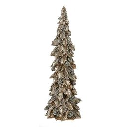 Glitter Holly Leaf and Berries Cone Tree, 15 in.   Kirkland's Home