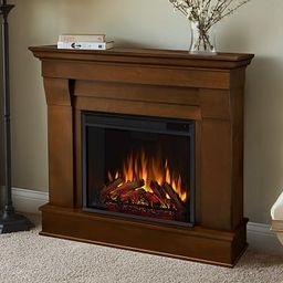 """Real Flame® 41"""" Chateau Electric Fireplace   Pottery Barn (US)"""