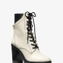 Bastian Leather Combat Boot | Michael Kors (US & CA)