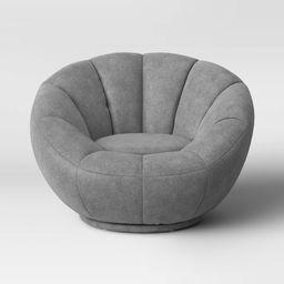 Kids' Sherpa Tulip Swivel Chair - Pillowfort™   Target