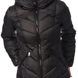 Bernardo Water Resistant Hooded Puffer Coat | Nordstrom | Nordstrom