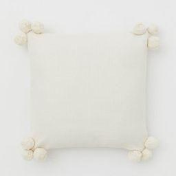 Pompom-detail Cushion Cover | H&M (US)