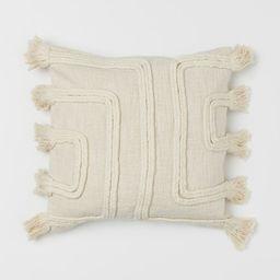 Tasseled Cushion Cover | H&M (US)