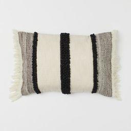 Cushion Cover with Fringe | H&M (US)