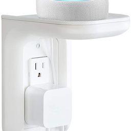 Made for Amazon Outlet Shelf for Amazon Echo Devices - White   Amazon (US)