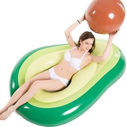 Jasonwell Inflatable Avocado Pool Float Floatie with Ball Water Fun Large Blow Up Summer Beach Sw...   Amazon (US)
