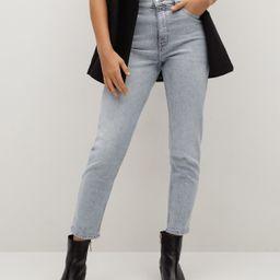 Mom-fit jeans | MANGO (UK)
