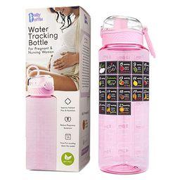 BELLYBOTTLE Pregnancy Water Bottle Intake Tracker with Weekly Milestone Stickers (BPA-Free) Pregn...   Amazon (US)