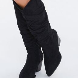 Slouchy Knee-High Boots | Forever 21 (US)