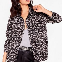 The Moment is Meow Leopard Shirt Jacket | NastyGal (US & CA)