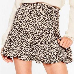 Growl Power Leopard Mini Skirt | NastyGal (US & CA)