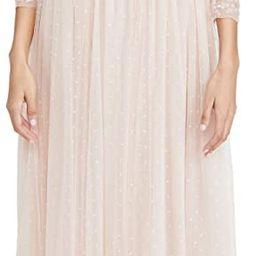 Needle & Thread Women's Sequin Ribbon Long Sleeve Bodice Maxi Dress | Amazon (US)