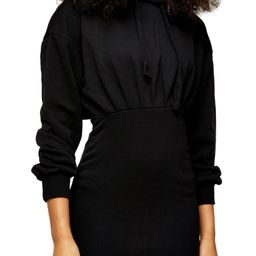 Topshop Hooded Minidress (Regular & Petite)   Nordstrom   Nordstrom