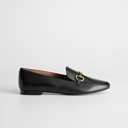 Equestrian Buckle Loafers | & Other Stories