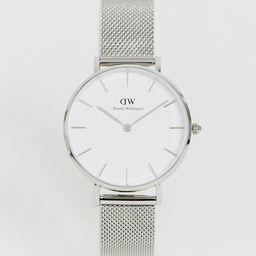 Daniel Wellington - DW00100164 - Mesh horloge in zilver | ASOS (Global)