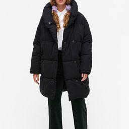 Oversized puffer coat   Monki