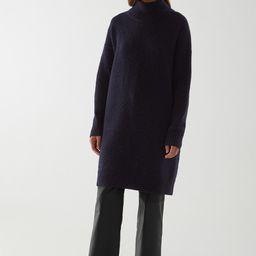 KNITTED WOOL-ALPACA DRESS   COS (Global)