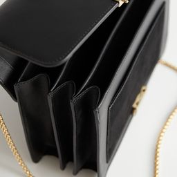 Leather Chain Strap Crossbody Bag   & Other Stories