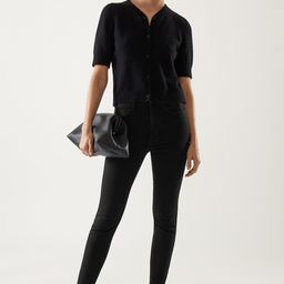 ORGANIC COTTON HIGH WAISTED SLIM FIT JEANS | COS (Global)
