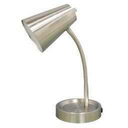 Elevated LED Desk Desk Lamp Silver (Includes Energy Efficient Light Bulb) - Room Essentials™   Target
