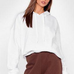 A Big Believer Oversized Pullover Hoodie   NastyGal (US & CA)