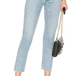 AGOLDE Riley High Rise Straight Crop. - size 32 (also in 25, 26, 27, 28, 29, 30, 31)   Revolve Clothing (Global)