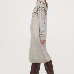 Jacquard-knit Dress | H&M (US)
