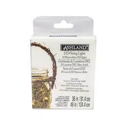 """12 Pack: 36"""" Warm White LED String Lights by Ashland® 