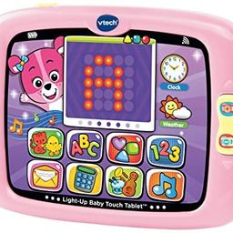 VTech Light-Up Baby Touch Tablet, Pink | Amazon (US)