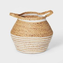 Water Hyacinth and Coiled Rope Storage Bin - Pillowfort™ | Target