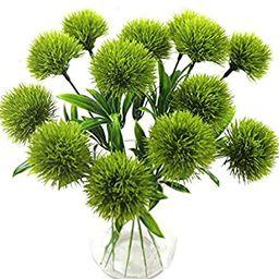 Yalulu 10 Pcs Dandelion Artificial Flowers Plants Bouquet Plastic Flower for Home Decoration/Wedd...   Amazon (US)