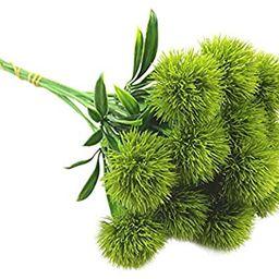 maipuxuan 10 Pcs Dandelion Artificial Flowers Plastic Plant Bouquet Home Decoration (Green)   Amazon (US)