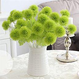 Ewer 10Pcs Artificial Dandelion Flowers, 13'' Multicolor Plastic Artificial Dandelion Ball for Ho...   Amazon (US)
