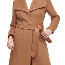 Wool Belted Wrap Coat | Nordstrom